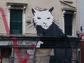 Banksyho d�lo na liverpoolsk�m hostinci The Whitehouse