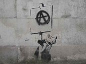 Banksyho graffiti