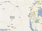 Mapa Kongo