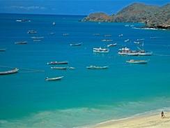 Isla Margarita, pláž Manzanillo