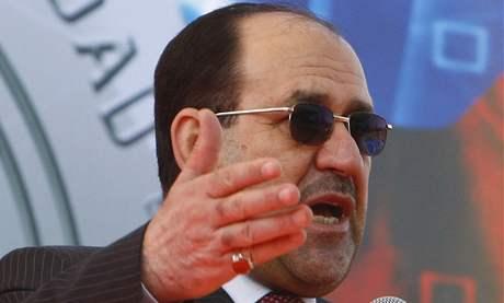 Irácký premiér Núrí Málikí