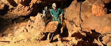 Oprava jeskyně Balcarka v Moravském krasu
