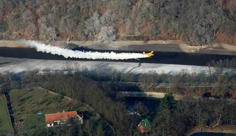 Začalo vápnění Brněnské přehrady (14.11)