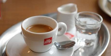 Espresso v Style Cafe ve Slavkově u Brna