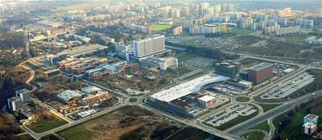 Stavba kampusu v Brně