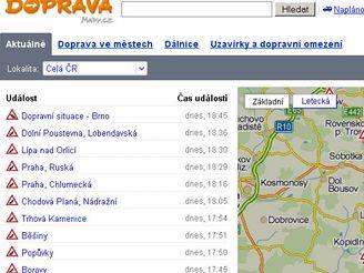 Doprava.mapy.cz