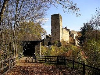 Zřícenina hradu Kaja