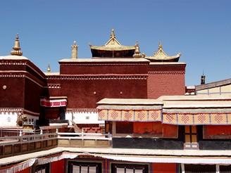 Tibet, Lhasa, palác Potala