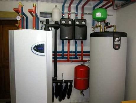 Tepelné �erpadlo lze propojit i se zásobníkem u�itkové vody