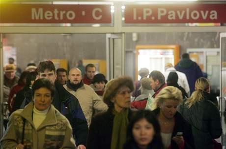 Stanice pra�ského metra I. P. Pavlova