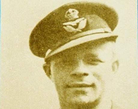 Josef Bryks za svého působení v RAF.