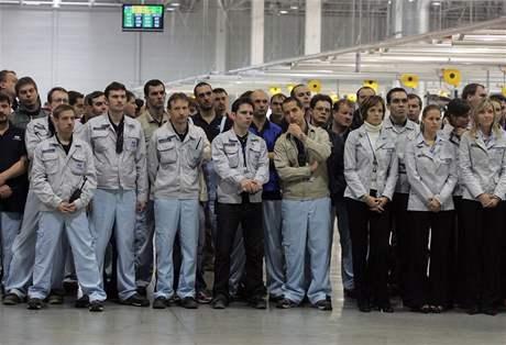 Slavnostní zahájení výroby Hyundai v Nošovicích (10. listopadu 2008)