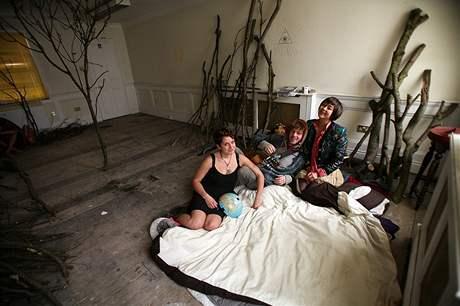 Squateři obsadili dům v luxusní londýnské čtvrti