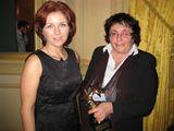 Marta Vančurová a Miroslava Ludvíková, které přijely do Bruselu pro ocenění Zlatá Hvězda za projekt Zmizelí sousedé.