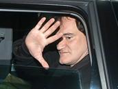 Z natáčení filmu Inglourious Basterds - Quentin Tarantino