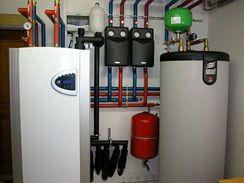 Tepelné čerpadlo lze propojit i se zásobníkem užitkové vody
