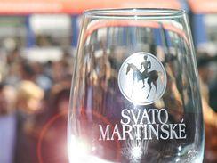 Na náměstí Svobody se nalévalo svatomartinské víno