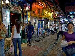 Thajsko, Bangkok, čtvrť Patpong