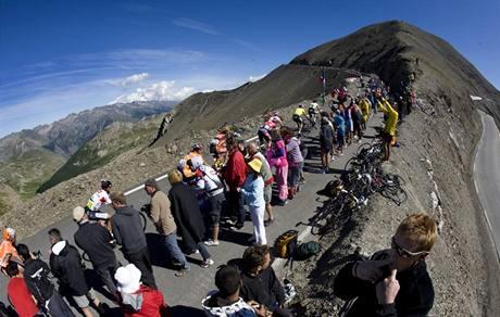 Z knihy ReCycling - Tour de France 2008 (Cime de la Bonette)
