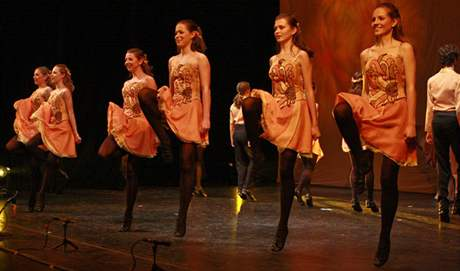 Legenda o labuti - taneční show z irské mytologie