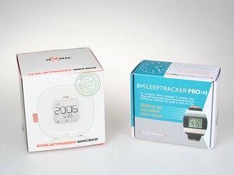 Sleeptracker Pro a aXBo budík
