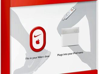 Čip Nike+ se automaticky spojí s iPodem a může měřit km, spotřebu kalorií,..