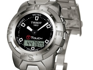 Hodinky Tissot T - touch s barometrem, výškoměrem,...
