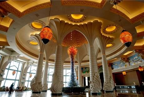Hotel Atlantis v Dubaji.