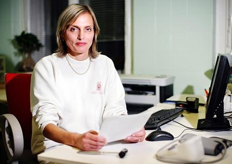 MUDr. Věnceslava Svobodová - manželka ministra Cyrila Svobody