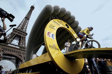 Z knihy ReCycling - Tour de France 2003 (Lance Armstrong)