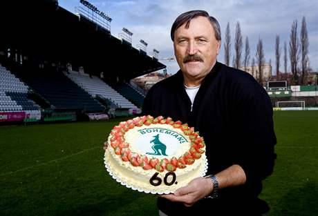 Antonín Panenka oslaví šedesáté narozeniny. | foto: Michal ...
