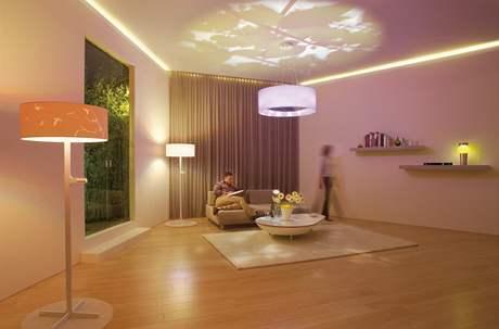 Dobře osvětlený interiér vypadá útulně - i bez nábytku