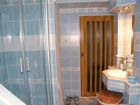 Koupelna, do které se vešlo vše