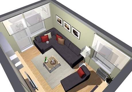 Proměna obývacího pokoje