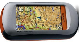 GPS navigace Garmin Oregon 300