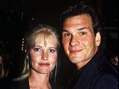 Patrick Swayze s manželkou Lisou Niemi