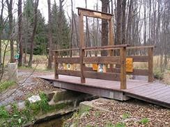 Most přátelství byl slavnostně otevřený v létě roku 2008