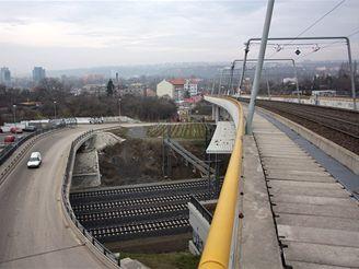 Nové spojení - tramvajová estakáda