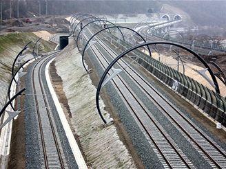 Nové spojení -kolejiště z Vysočan