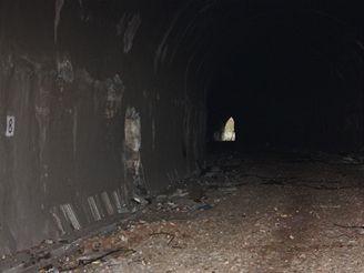 Nové spojení - původní jednokolejný tunel