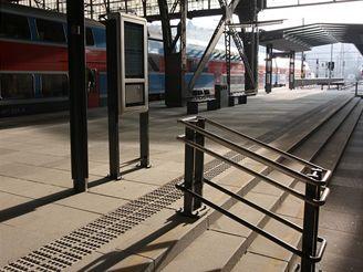 Hlavní nádraží - nová nástupiště