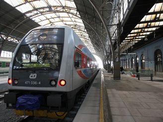 Hlavní nádraží - první nástupiště