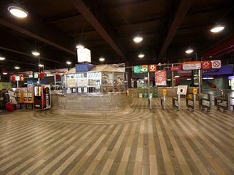 Hlavní nádraží - vestibul metra