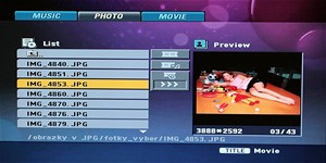 SCREEN - photo menu (LG)