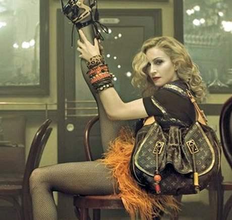 Madonna v reklamní kampani značky Louis Vuitton