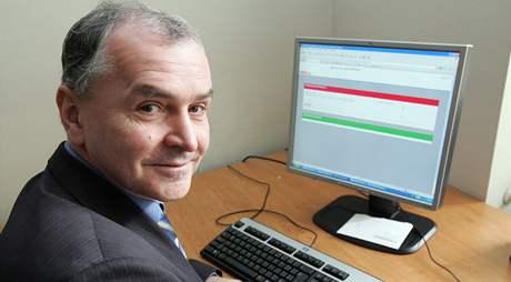 Bývalý hejtman Stanislav Juránek při on-line rozhovoru