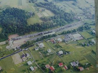 Obec Stępinie v jižním Polsku