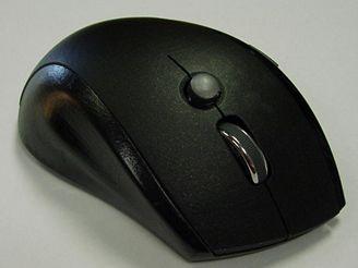 Myš s joystickem