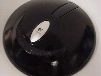 Myš ve tvaru hokejového puku