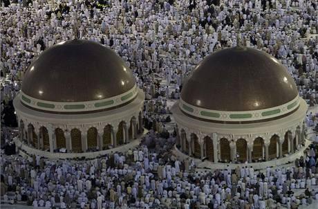 Statisíce muslimů vyrazily na tradiční pouť do Mekky. (6. prosince 2008)